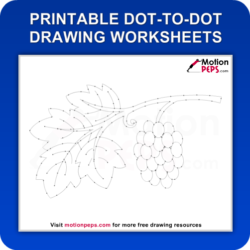 Click here to Download or Print this Dot to Dot Drawing Worksheet